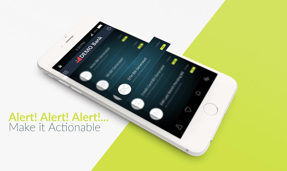 Alert - Make it Actionable