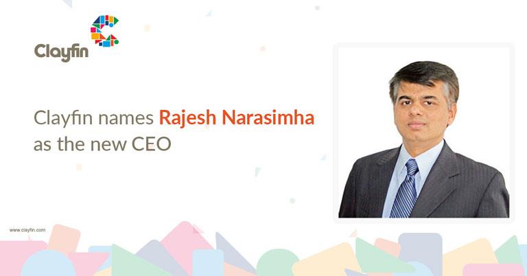 Clayfin names Rajesh Narasimha as the new CEO